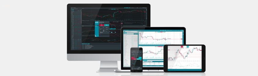 LCG trading software