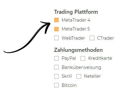 CFD Broker MetaTrader