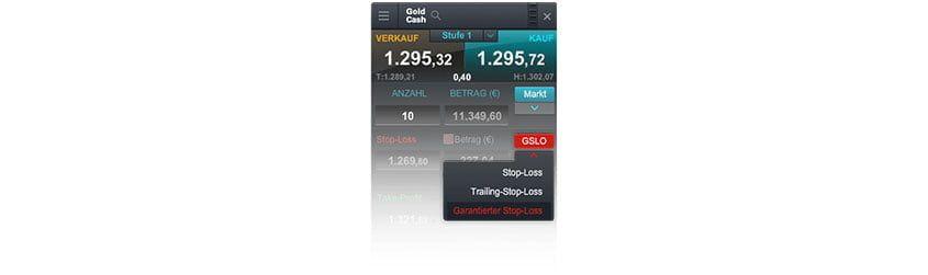 Garantierter Stop Loss CMC Markets