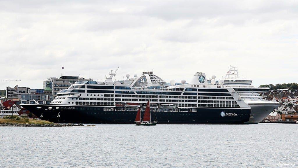 Azamara - cruiseskip - Stavanger havn 2014