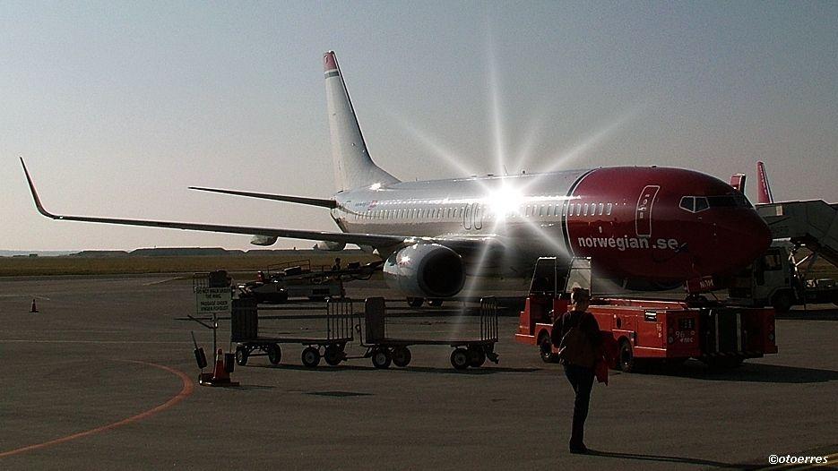 Norwegian - Boeing 737 - Aalborg