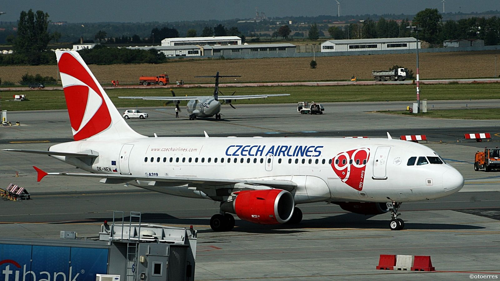 Czech Airlines - Airbus A 319 - Praha