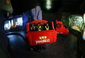 NINJAGO The Ride (Legoland.dk)
