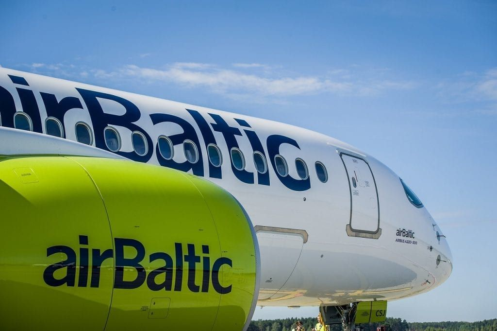 airBaltic - Airbus A 220-300 - Bombardier CS 300-