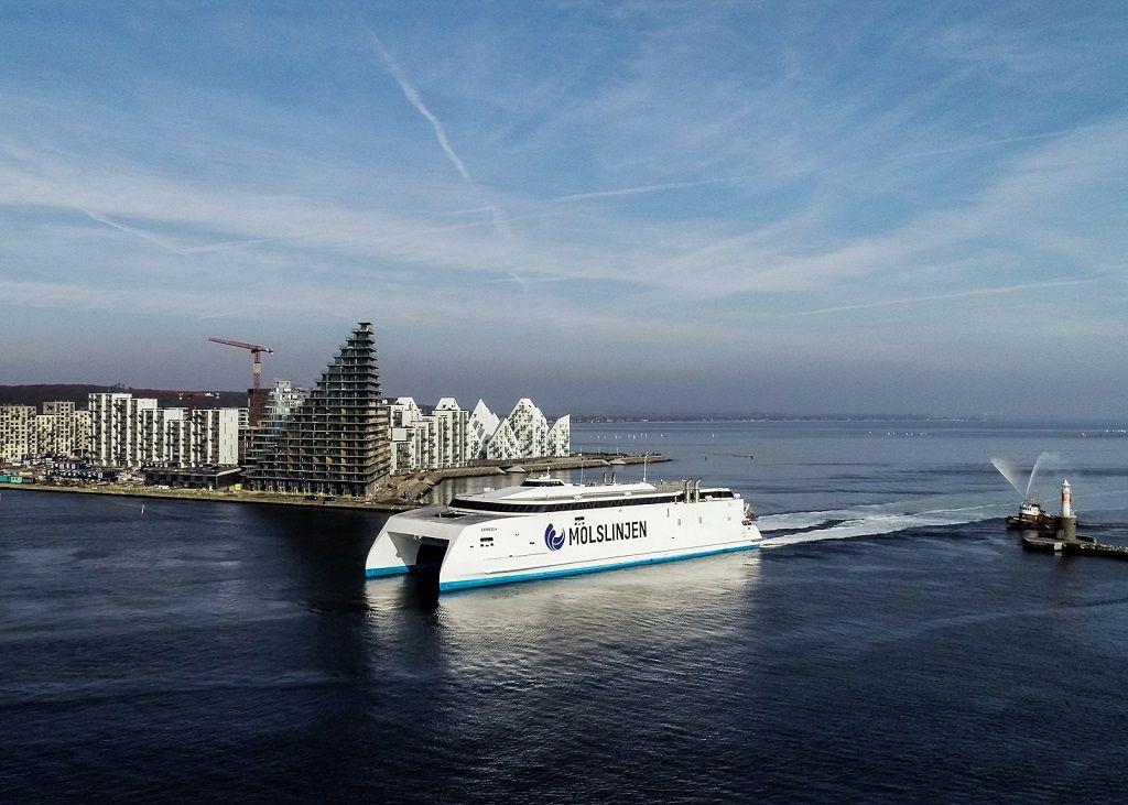 Molslinjen - Bornholm - Hurtigferje - Express 4 - 2022