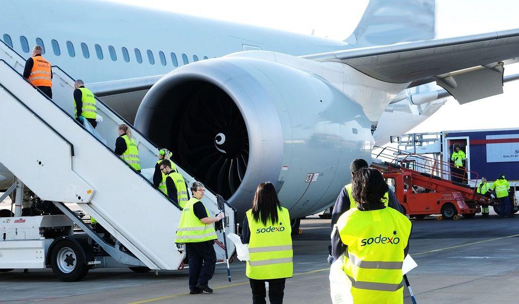 Airport services - Sodexo - SAS - Ground handling