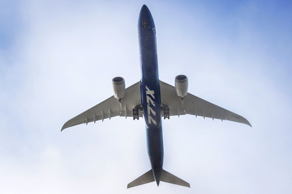 Boeing 777X - Første flyvning - Paine Field - Everett - Seattle - Washington - USA