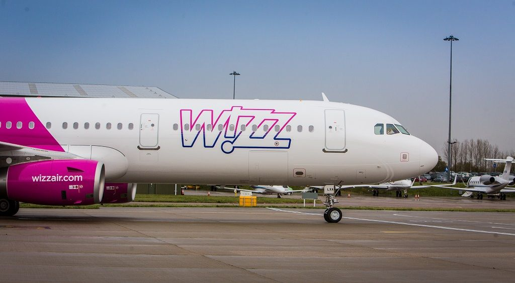 Wizz Air - Airbus A 321 - Nytt livery