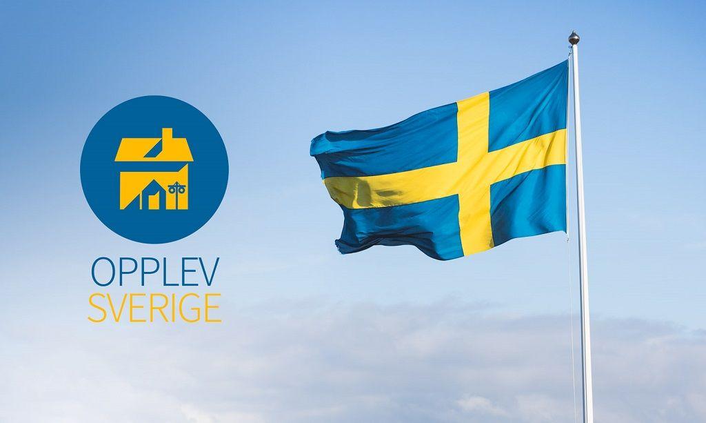 Opplev Sverige - Logo -Visit Sweden