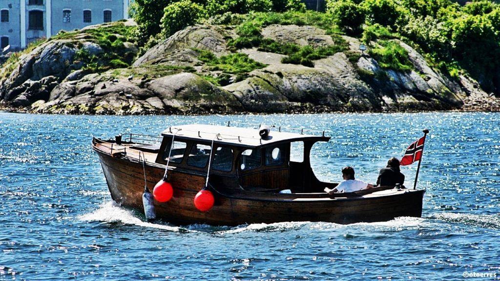Snekke - Sol - Sommer - Båtrliv - Engøy - Stavanger - Norge