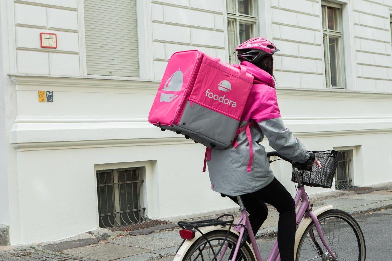 foodora - syklist - matlevering - Oslo