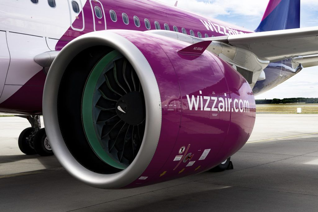 Motor - Wizz Air / Airbus A 320 Family