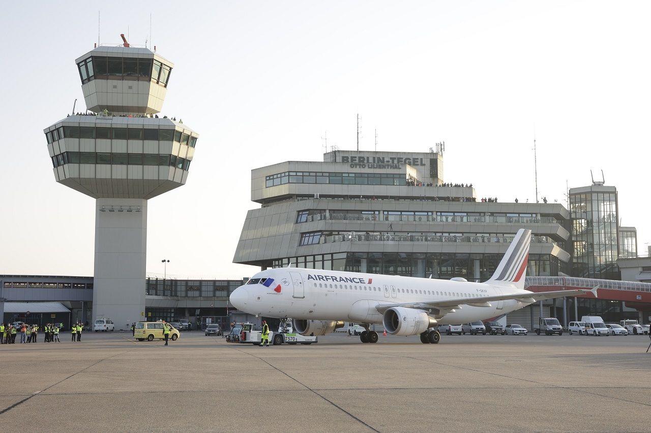 Air France - Siste avgang - TXL - Berlin Tegel - 8. november 2020