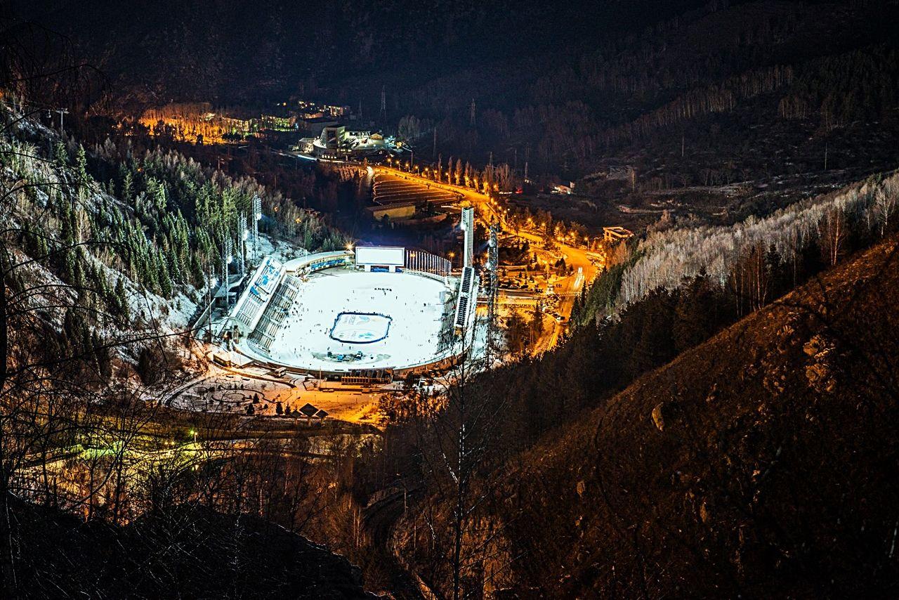 Medeo - Skøytebane - Almaty - Alma Ata - Kasakhstan