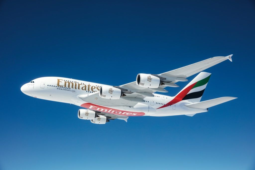 Airbus A 380 - Emirates Airline - Dubai