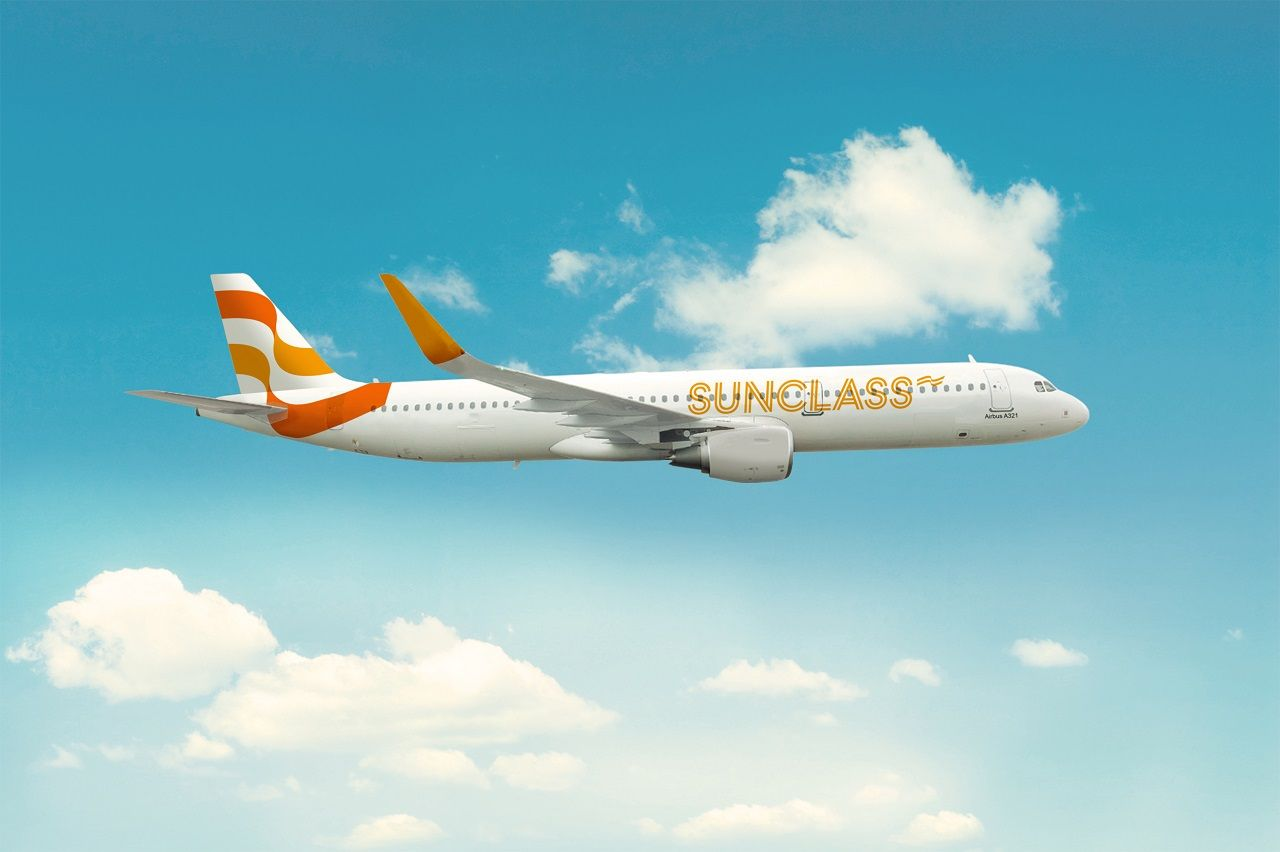 SunClass Airlines - Airbus A 321 - Ny Livery - desember 2020