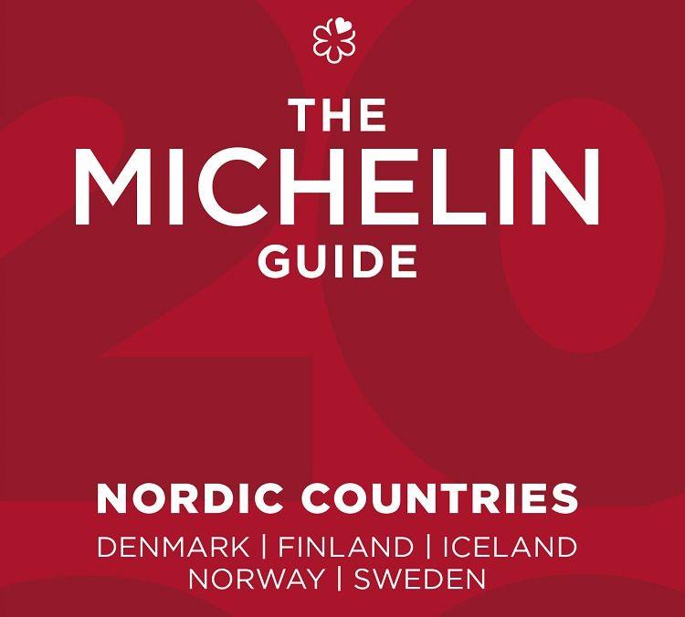 Bokomslag - Guide Michelin Nordic countries - 2021
