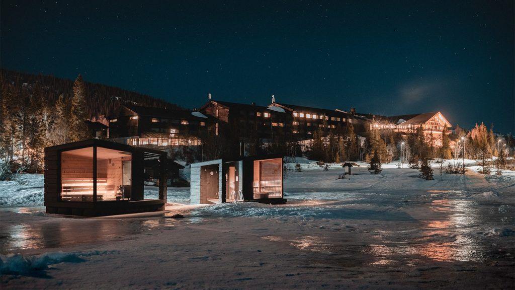 Gausta Sauna -Kvitåvatn - Gaustablikk - Rjukan - Telemark