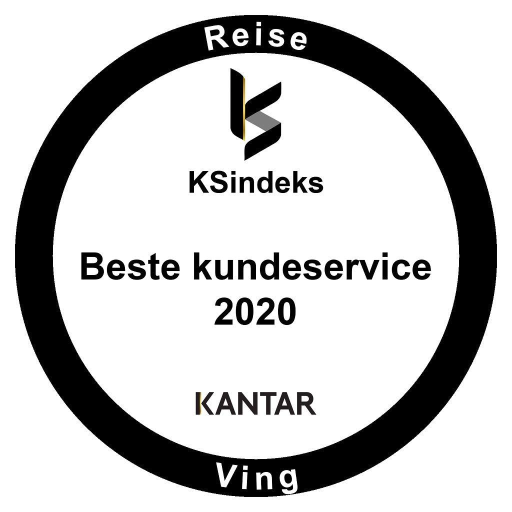 KS Indeks - Kundeserviceprisen - 2020 - Kantar