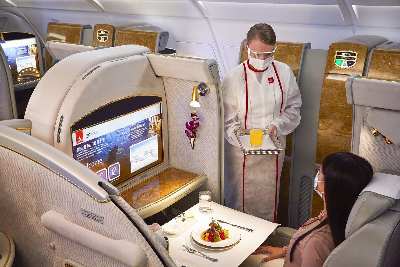 Emirates - Cabin - Service - Skywards