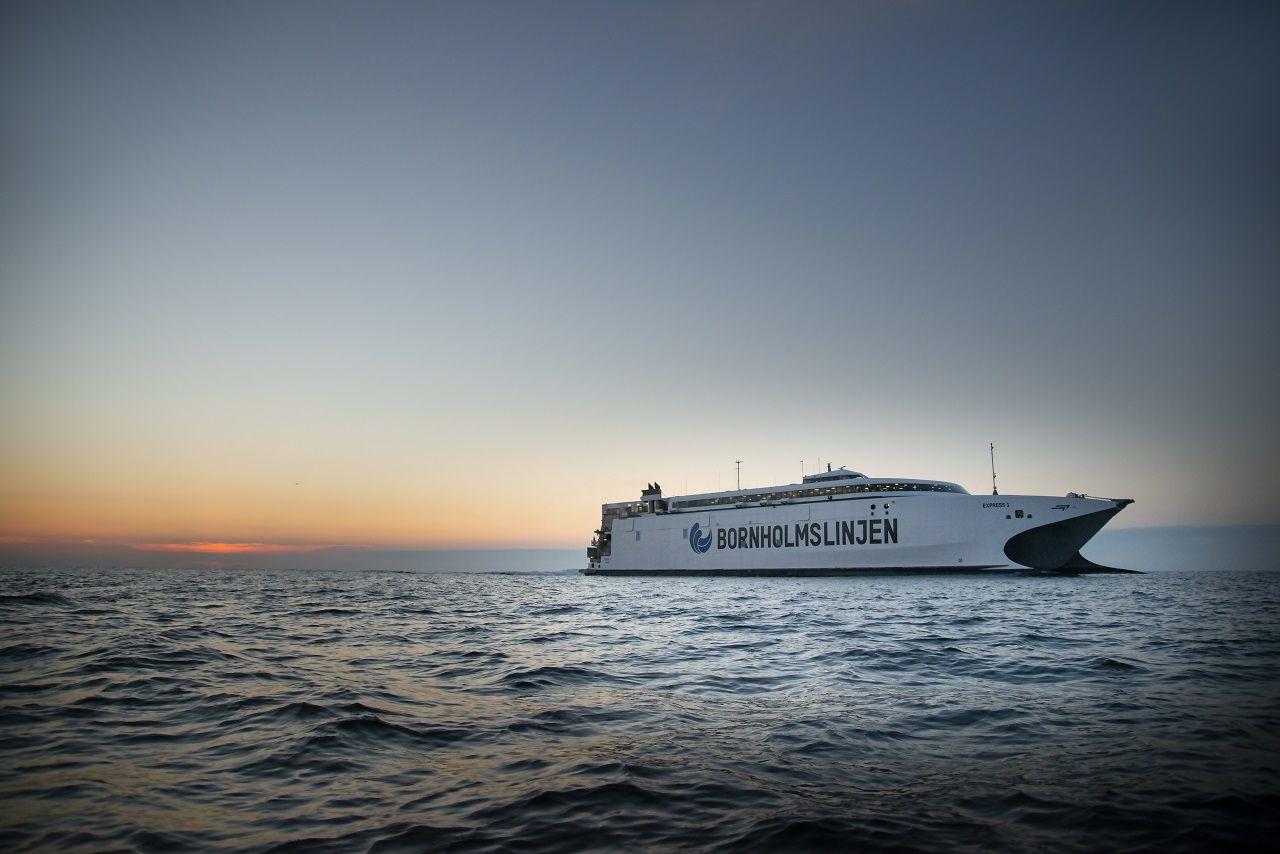Express 1 - Bornholmslinjen - Molslinjen - Hurtigferje