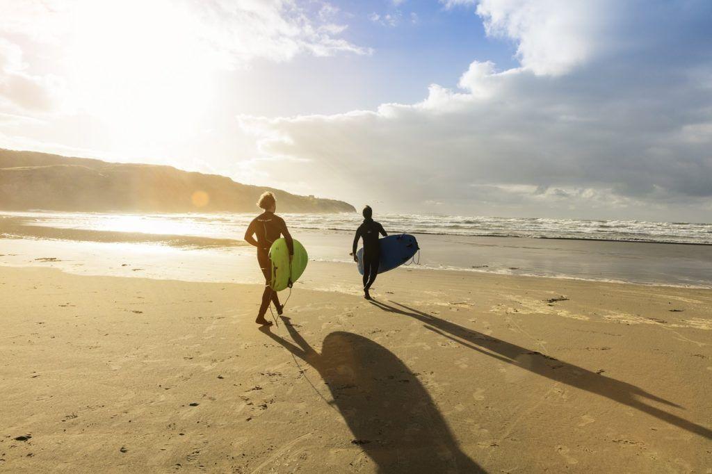 Surfere - Bundoran -Irland - Tourisme Ireland