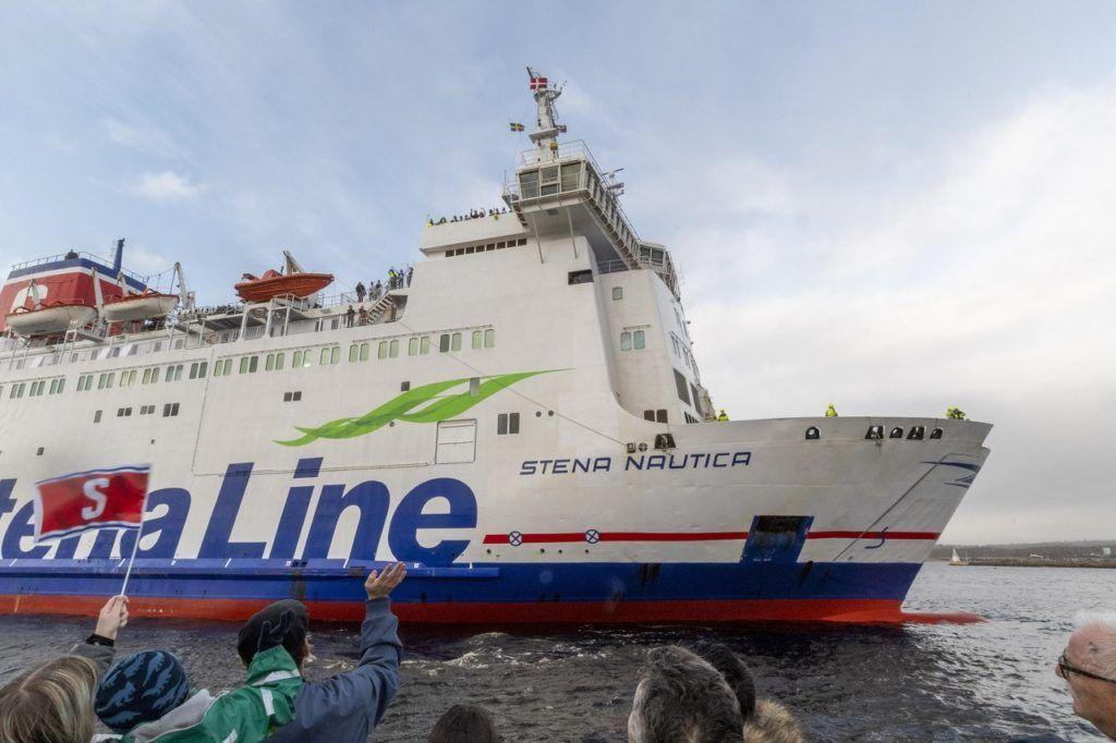 Stena Nautica - Ferge - Grenå - Halmstad - Kattegat -2020