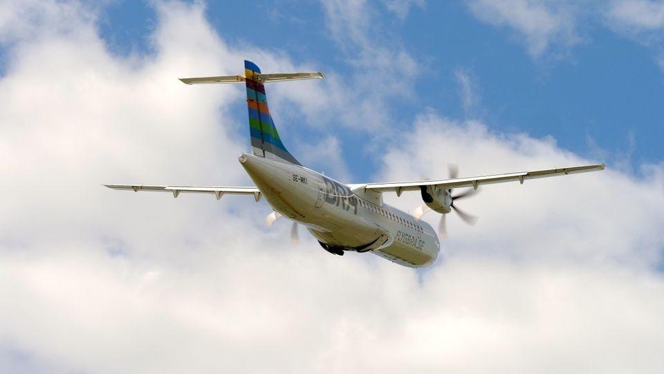 ATR 72 - Turboprop - BRA - FlygBRA - Sverige