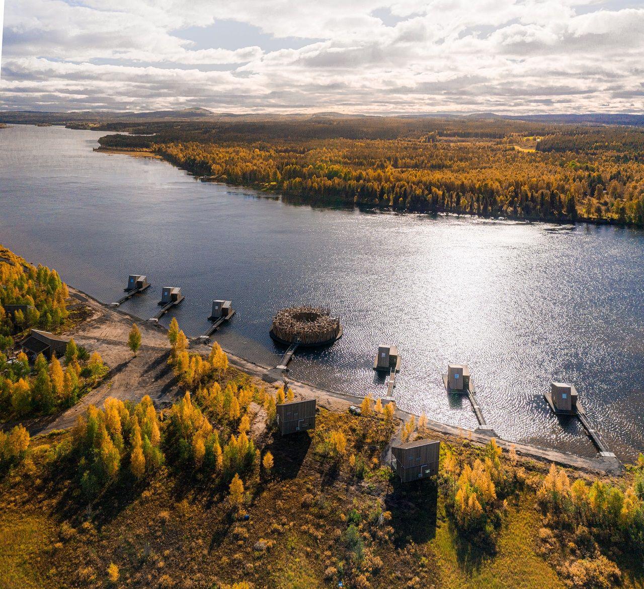 Arctic Bath - Flytende Spa-anlegg - Luleåelven - Sverige