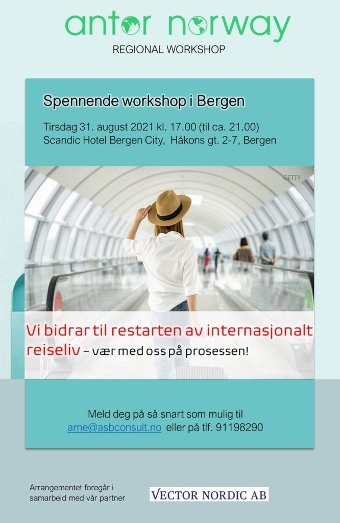 ANTOR -regional workshop - Bergen - 2021