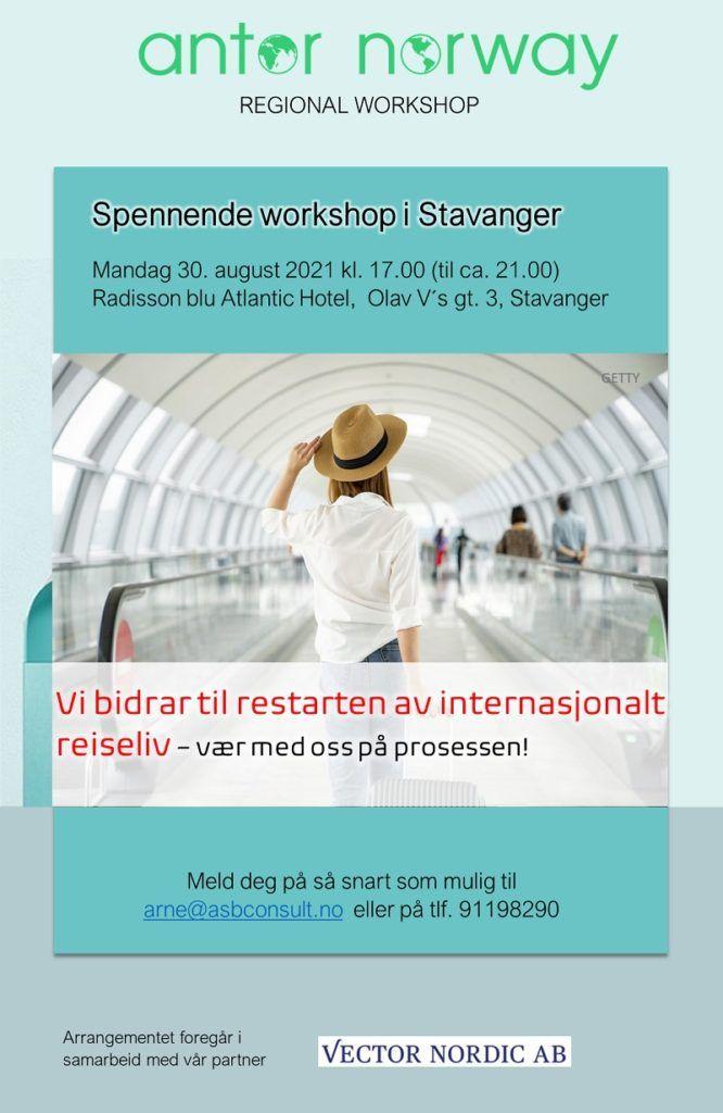 ANTOR -regional workshop - Stavanger 2021