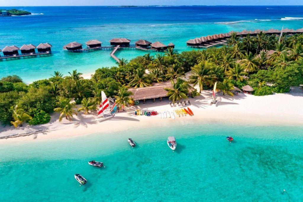 Sheraton Maldives Full Moon Resort & Spa - Luksusøy - resort - Maldivene
