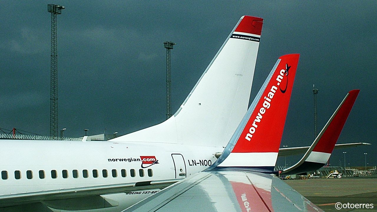 Norwegian - Boeing 737-800 -Winglets - Kastrup