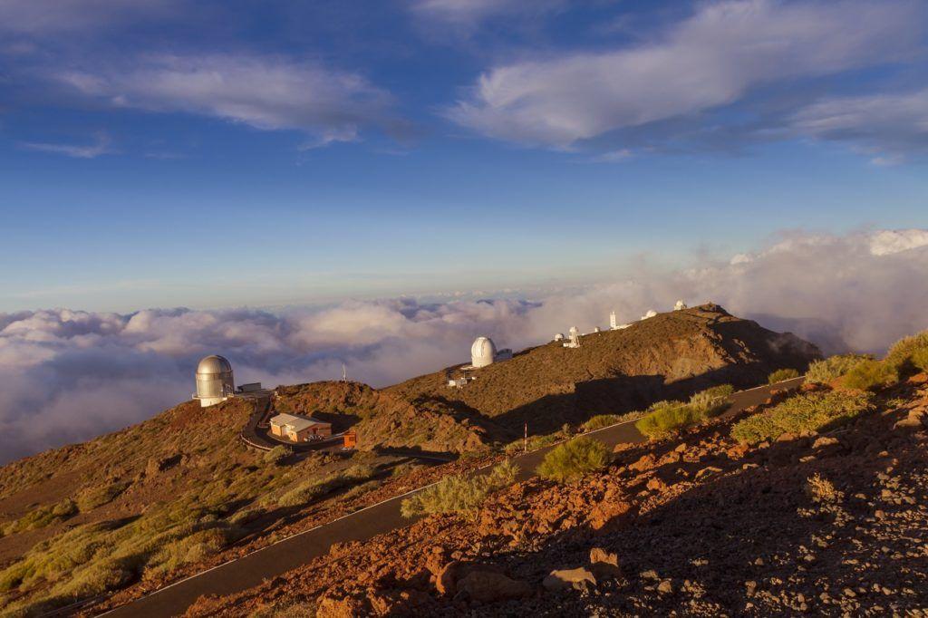 Observatoriet del Roque de los Muchachos - La Palma - Kanariøyene