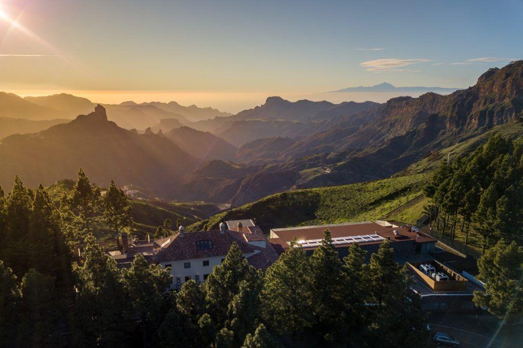 Parador de Cruz de Tejeda - Herrgård - Slot - Gran Canaria - Spanien