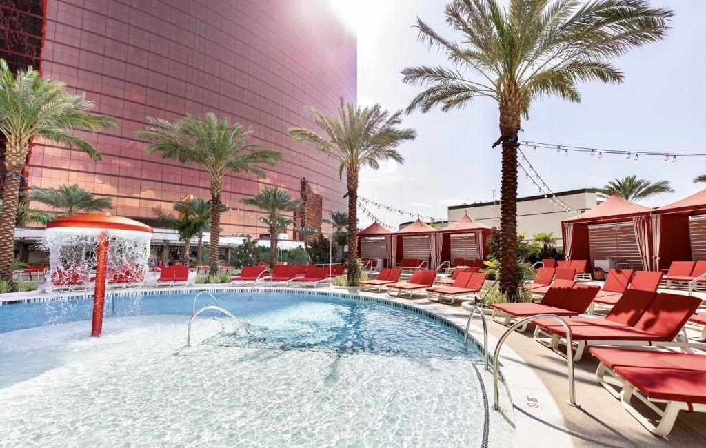 Resorts World pool area - Las Vegas - USA