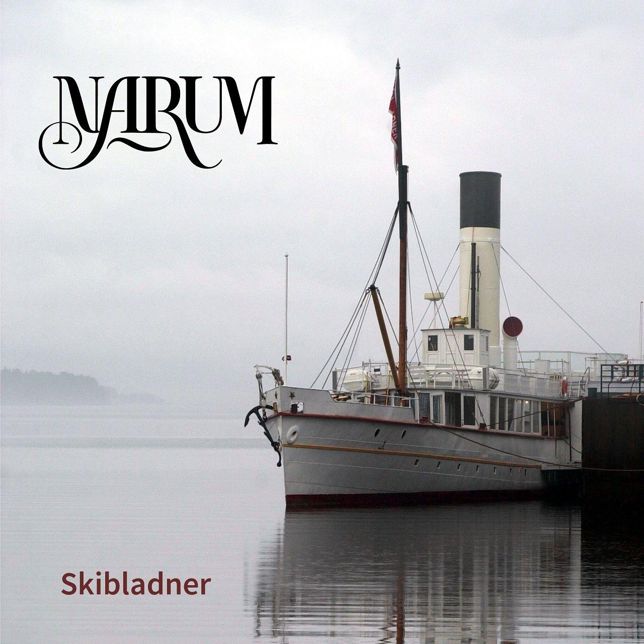 Plateomslag - Skibladner - Marum - drabantmusic.no