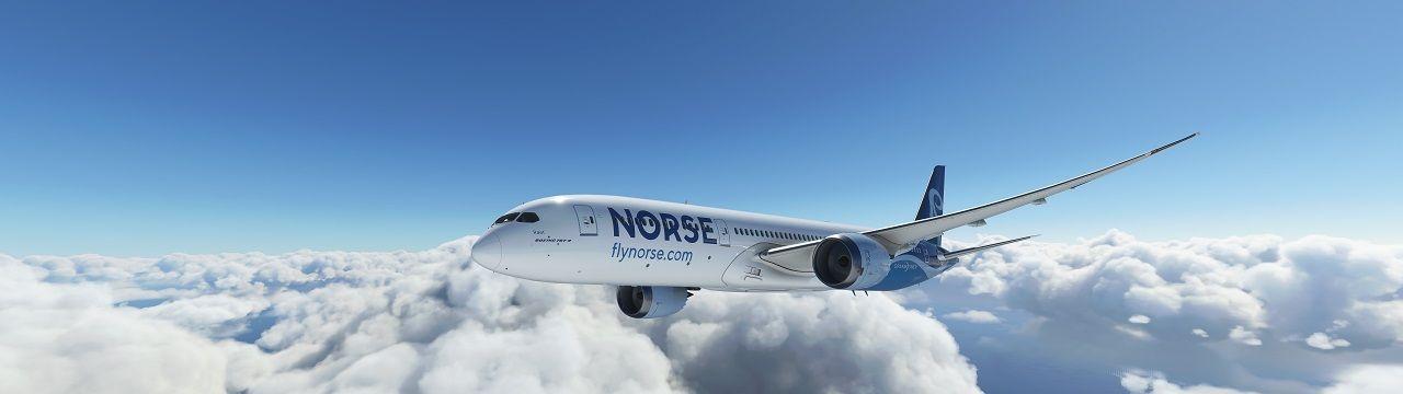 Livery - Norse Atlantic Airways - Boeing 787-9 - Dreamliner