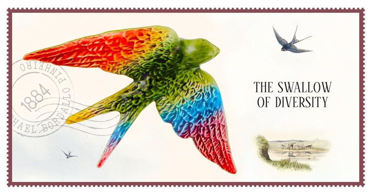 Swallow of Diversity - Svale - Keramikk - Bordallo Pinheiro - Visit Portugal