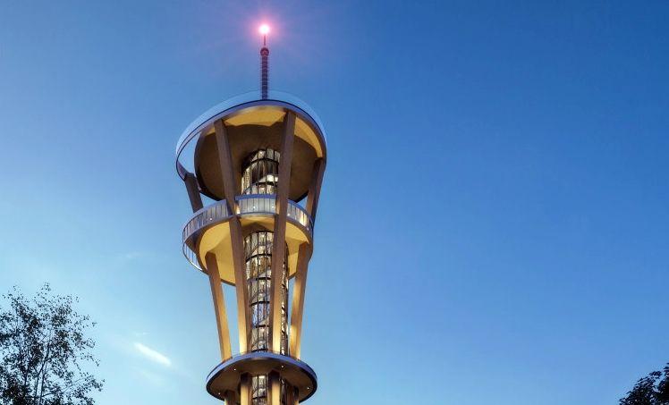 Rhineland Tower K1 - Utsiktstårn - Kerpen - Nordrhein-Westfalen - Tyskland