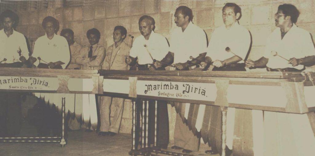 Marimba Diriá. Fotografía: https://www.facebook.com/marimbadiria