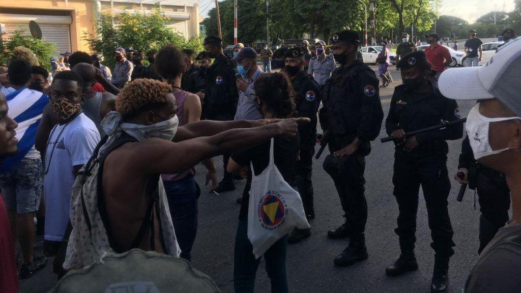 Foto protestas Cuba 3