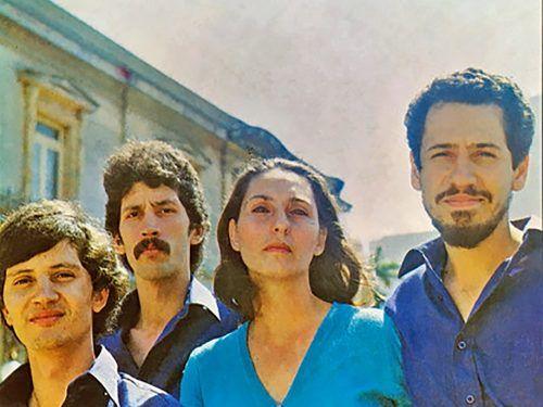 """Cantares- Portada del disco """"El canto del pueblo costarricense"""""""