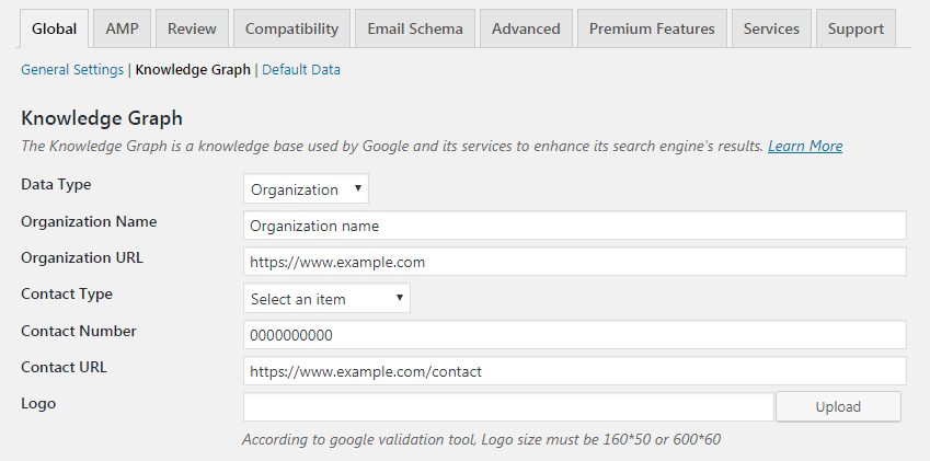 Schema & Structured Data for WP & AMP Knowledge Graph