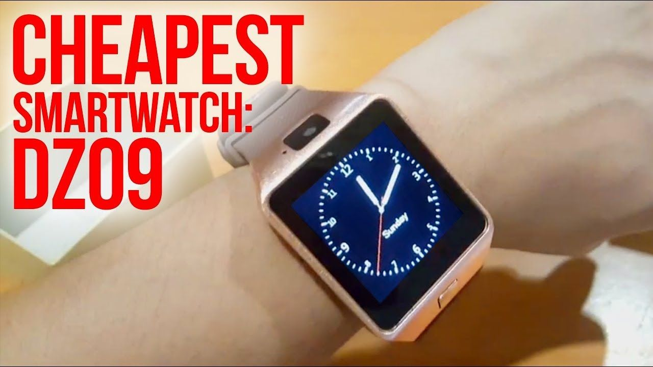 DZ09 Smartwatch (CHEAPEST SMARTWATCH!) Review in 2018   Unbox Everything Philippines