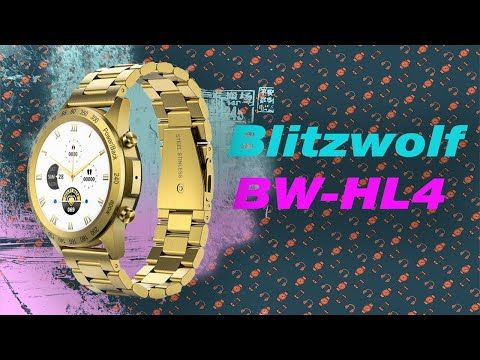 Review of Blitzwolf BW-HL4 smartwatch