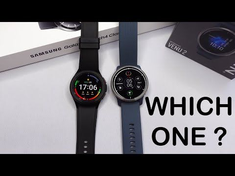Samsung Galaxy Watch 4 vs. Garmin Venu 2 | What are the differences? | Smartwatch Comparison/Review
