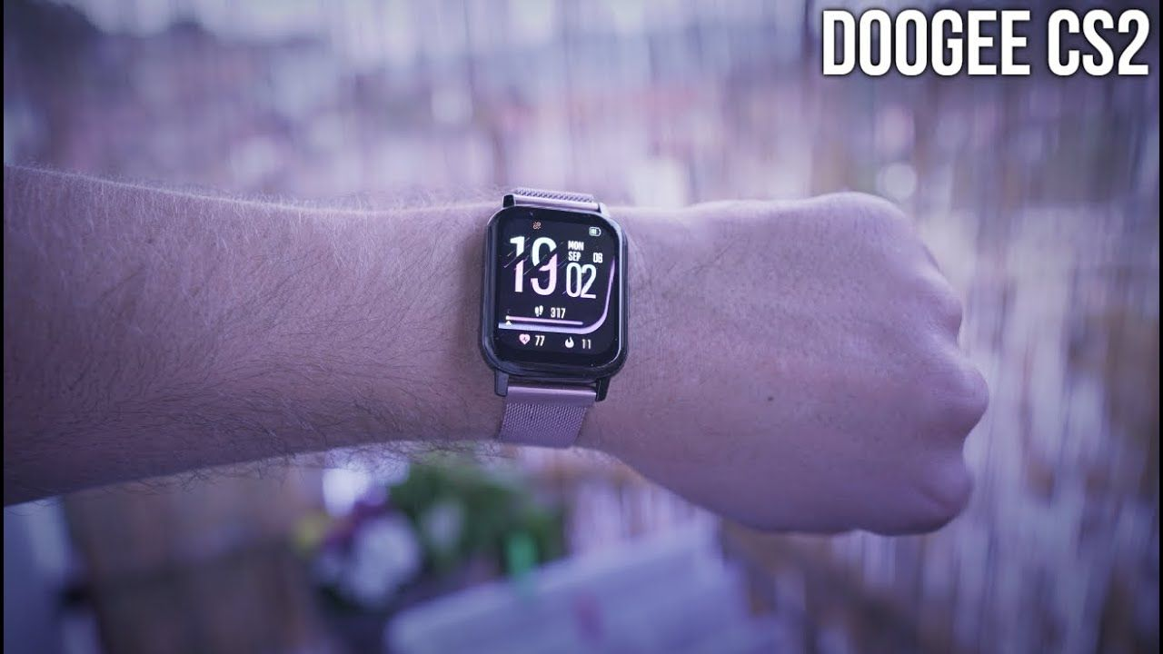 20$ Apple watch alternative? DOOGEE CS2 Smartwatch Unboxing/Review/App test/Pros and Cons 2021