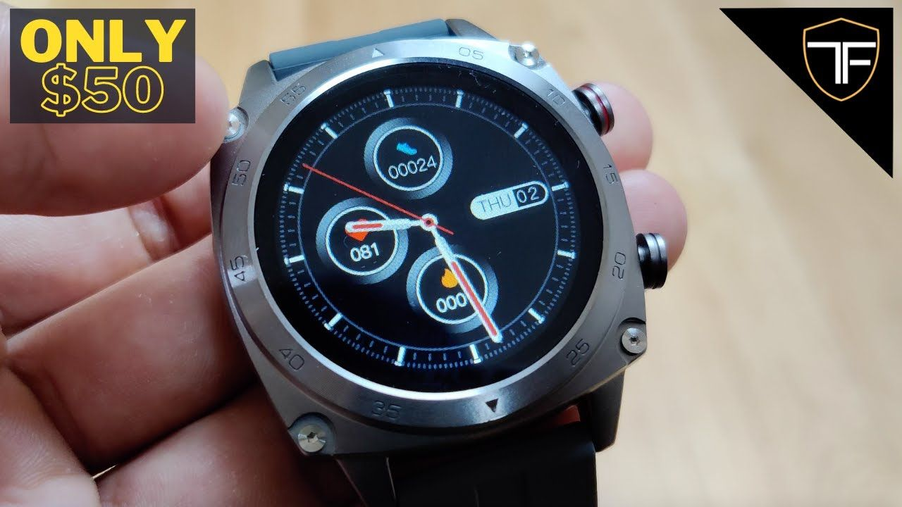 Cubot C3 Smartwatch Review – Only $50 with Waterproofing, Notifications, Heart Rate and More!