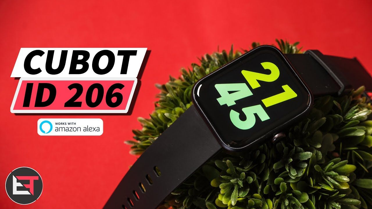 Cubot ID 206 Unboxing & Review – Alexa Enabled Budget Smart Watch 2021 !?
